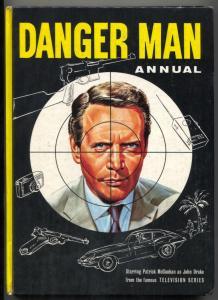 Danger Man Annual 1966- Patrick McGoohan -UK hardback
