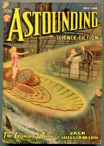 Astounding Pulp May 1938- Science Fiction- Jack Williams VG