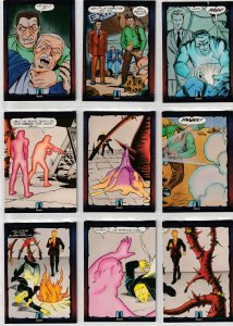 Dark Dominion # 0 Trading Cards  Rare Steve Ditko painted art ! 45  Cards !