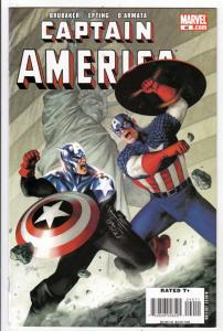 Captain America #40 (Sep-08) NM+ Super-High-Grade Captain America aka Bucky B...
