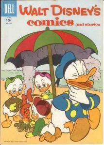 WALT DISNEYS COMICS & STORIES 201 VF  June 1957 COMICS BOOK