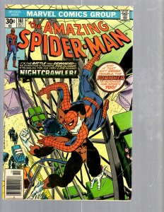 Amazing Spider-Man # 161 FN/VF Marvel Comic Book MJ Vulture Goblin Scorpion TJ1