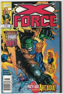 X-Force #83 November 1998 Marvel Comics