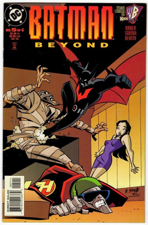 BATMAN BEYOND #5 (VF+) 1999 - 1st Series High Grade VHTF