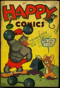 Happy Comics #21 1947- Frazetta- Nedor Funny Animals G/VG