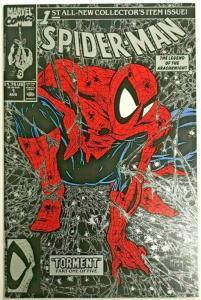 SPIDER-MAN#1 VF/NM 1990 TODD MCFARLANE MARVEL COMICS