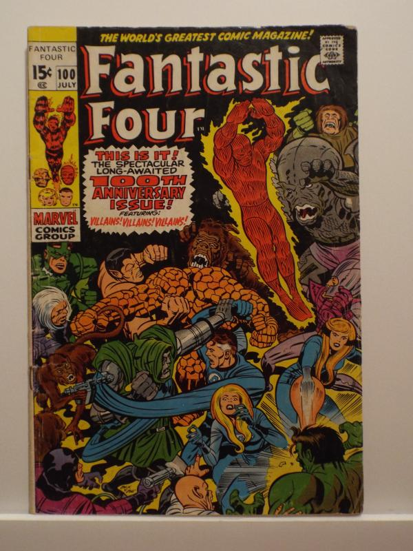 Fantastic Four (1961 1st Series) #100, VG