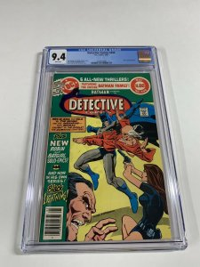 Detective Comics 490 Cgc 9.4 White Pages Dc Comics Batman