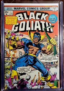 Black Goliath #1 (1976)