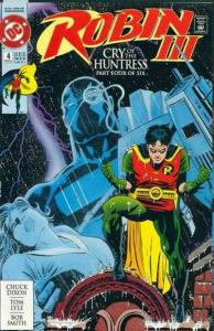 Robin III: Cry of the Huntress #4, NM (Stock photo)