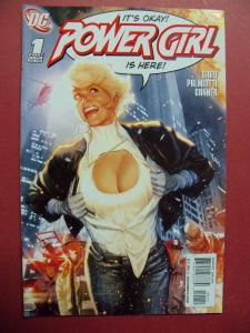 POWER GIRL  #1 2009 SERIES 1ST PRINT  Near Mint 9.4 Or Better DC COMICS