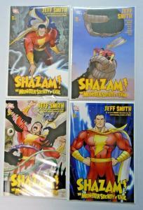 Shazam The Monster Society of Evil set #1 to #4 - 8.0 - 2007
