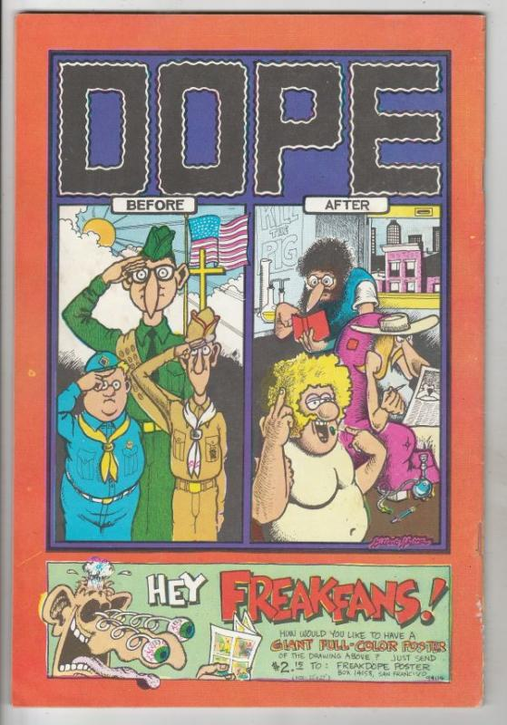 Fabulous Furry Freak Brothers #1 (Jan-71) FN/VF+ Mid-High-Grade The Freak Bro...