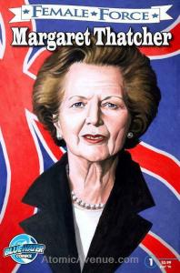 Female Force: Margaret Thatcher #17 VF/NM; Bluewater | save on shipping - detail
