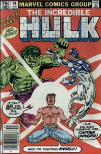 Incredible Hulk, The Annual #10 (Newsstand) VG; Marvel | low grade comic - save