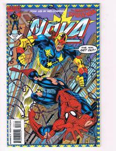 Nova #3 FN Marvel Comic Book Guardians Of The Galaxy Spider-Man March 1994 DE35