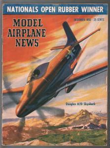 Model Airplane News 12/1950-Douglas A2D Skyhawk-photos-diagrams-builder tips-VG