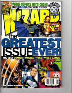 3 Wizard Comic Book Magazines June 2000 July 2000 August 2000 X-Men Movie MS13