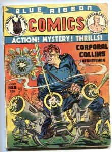 Blue Ribbon Comics #3 1940 MLJ Hercules-The Fox-Green Falcon