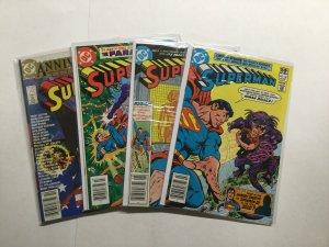Superman 361 362 369 400 Lot Run Set Very Fine/Near Mint 9.0 Dc Comics
