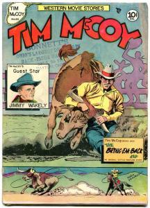 Tim McCoy #18 1948- Charlton Western- Jimmy Wakely- Mario DeMarco VG