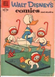 WALT DISNEYS COMICS & STORIES 223 GOOD   April 1959 COMICS BOOK
