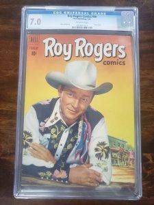 Roy Rogers Comics 50 CGC 7.0
