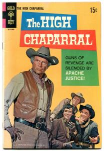 High Chaparral #1 1968-Gold Key-1st issue-TV-Lief Ericson-Cameron Mitchell- F/VF