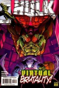 Hulk (1999 series) #3, NM + (Stock photo)