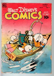 WALT DISNEY'S COMICS AND STORIES #93-1948-DONALD DUCK-MICKEY MOUSE-C BARKS-G G