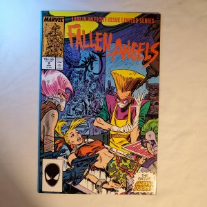 Fallen Angels 8 Very Fine+ Cover by Kerry Gammill