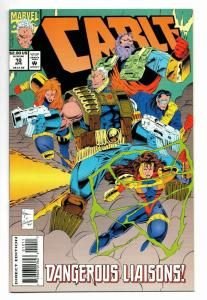 Cable #10 (Marvel, 1994) NM