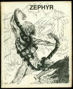 Zephyr #5 1973- British Fanzine- UK Fandom comics FN-