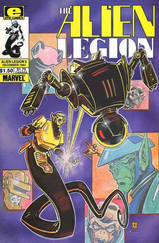 Alien Legion (Vol. 1) #5 VF/NM; Epic | save on shipping - details inside