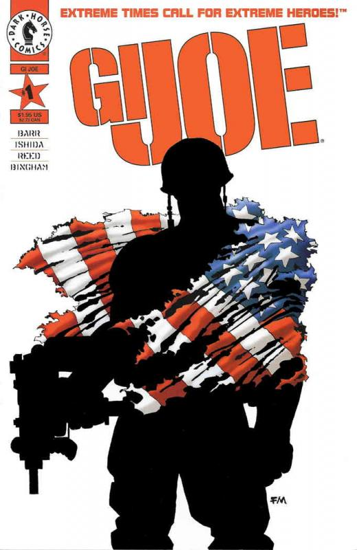 GI Joe (Vol. 1) #1B VF/NM; Dark Horse | combined shipping available - details in