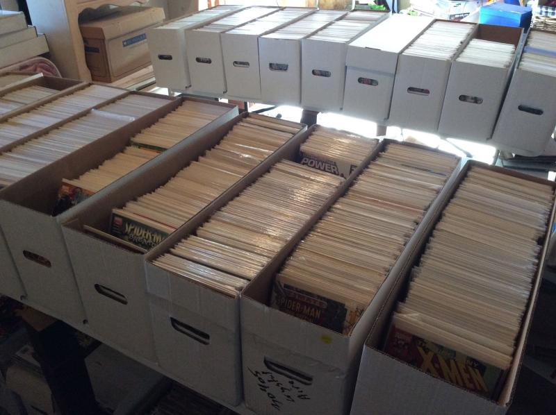Huge Comic Book Lot Of 25 (Over 15,000 Book Collection)
