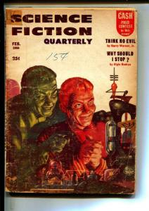 Science Fiction Quarterly-Pulps-2/1956-Carol Emshwiller-Algis Budrys