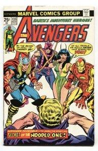 AVENGERS #133 1974-KREE/SKRULL WAR-comic book VF