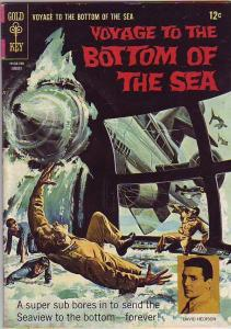 Voyage to the Bottom of the Sea #9 (Aug-67) FN+ Mid-Grade Admiral Nelson