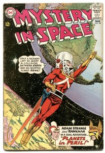 Mystery In Space #90 1964- ADAM STRANGE-  Hawkman G/VG