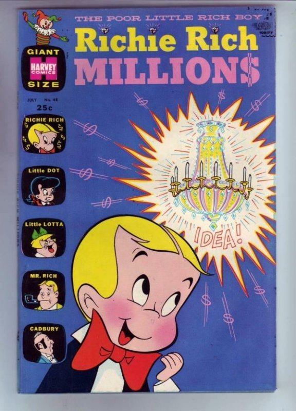 Richie Rich Millions #48 (Jul-71) VF/NM+ High-Grade Richie Rich
