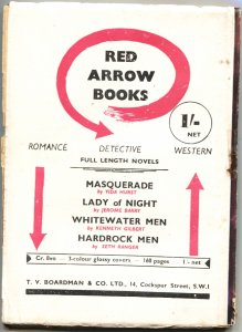 3 STAR WESTERN-1950s RARE BRITISH PULP-COLORFUL GUNFIGHT COVER ART