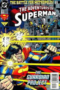 Adventures of Superman (1987 series) #513, NM + (Stock photo)
