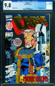 CABLE #1 CGC 9.8 1993 comic book 1st issue-Marvel 1996996014