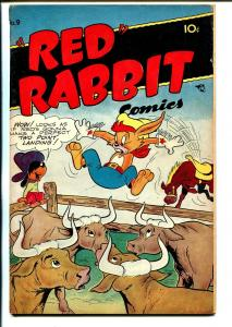 Red Rabbit #9 1948-Pancakes-watermelon-African-American-VG/FN