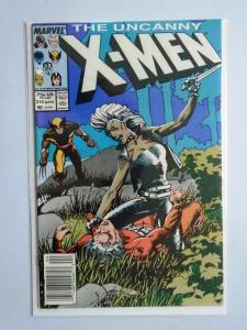 Uncanny X-Men (1st Series) #216, Newsstand Edition, 8.0/VF - 1987
