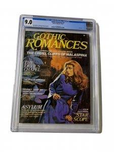 Gothic Romances 1 Cgc 9.0 Ow/w Pages