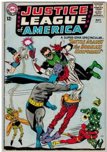 JUSTICE LEAGUE OF AMERICA 35 G-VG May 1965