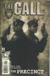 Marvel THE CALL OF DUTY: THE PRECINCT #1 VF/NM