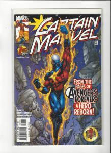 Captain Marvel #1 (2002) Avengers Forever Marvel Comics NM